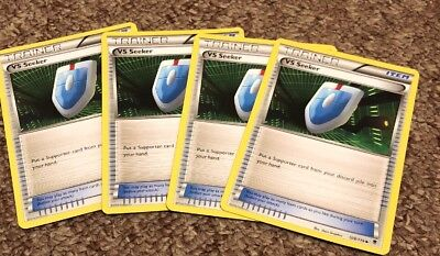 4x VS Seeker 109/119 Phantom Forces Pokemon TCG Cards