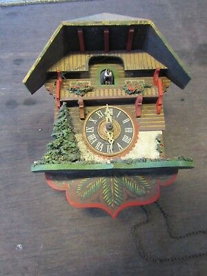 Vintage Antique Cuckoo Clock
