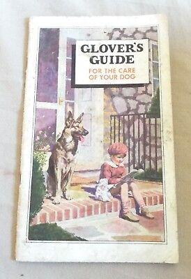 1935 Glover's Guide For The Care Of Your Dog
