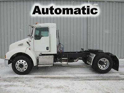 T300 8.3 Cummins Px8 Diesel Allison Automatic Daycab Semi Single Axle Truck