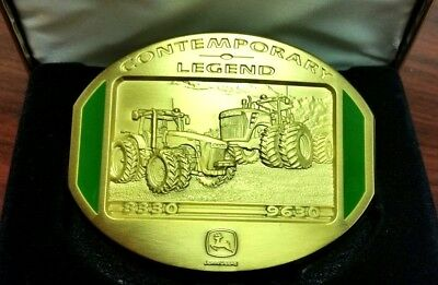 NEW John Deere 2008 Gold Limited Edition Belt Buckle 8330 9630 LP1341