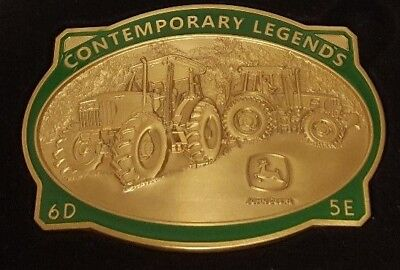 NEW John Deere 2009 Gold Limited Edition Belt Buckle 6D 5E JP1411