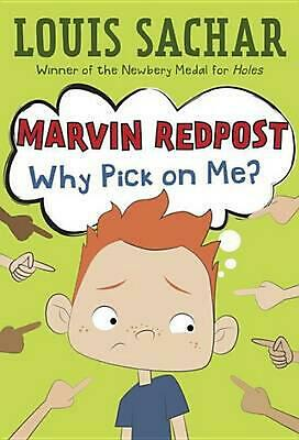 Marvin Redpost #2: Why Pick on Me? by Louis Sachar (English) Paperback Book Free