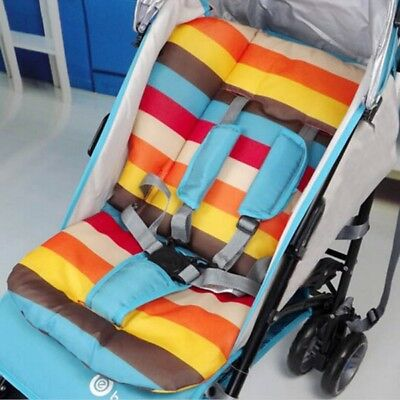 Baby Pushchair Stroller Buggy Pram Highchair Liner Pad Cover Seat Cushion Thick