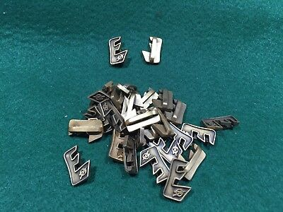 Lot of 30 1970's Vintage Boy Scouts Explorer Metal Slides