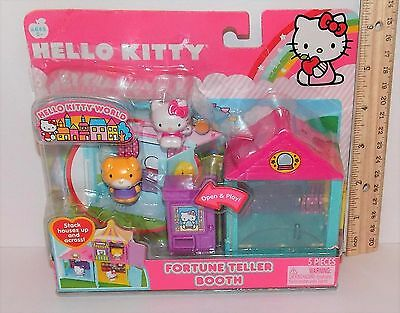 Hello Kitty World 5 Piece Fortune Teller Booth Brand New in Package BNIP