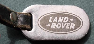 1990s Era Paramus,New Jersey Land Rover dealership metal keychain-VERY COOL!