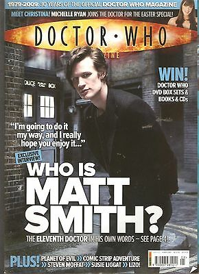 DOCTOR WHO MONTHLY #405 - WHO IS MATT SMITH? [m2]