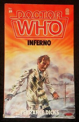 Doctor Who Inferno novelisation 1980 first edition by Terrance Dicks