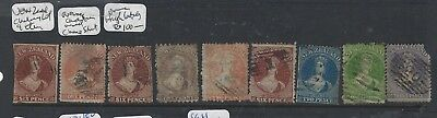 New Zealand  (P2912B) Chalons Lot Of 9 Mixed Quality Fu