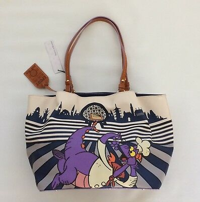 BNWT Disney Dooney and Bourke 2017 Epcot Food And Wine Chef Figment Tote