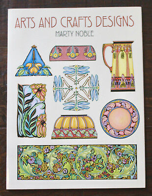 Arts and Crafts Designs • Marty Noble • softcover book