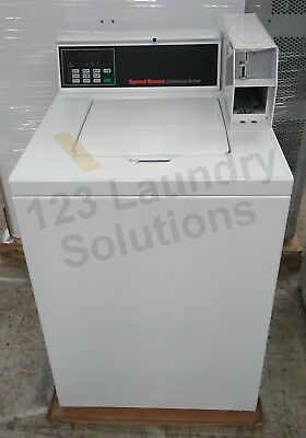 Speed Queen Commercial Top Load Washer Coin Drop 120V SWNNC2SP113TW02 FloorModel