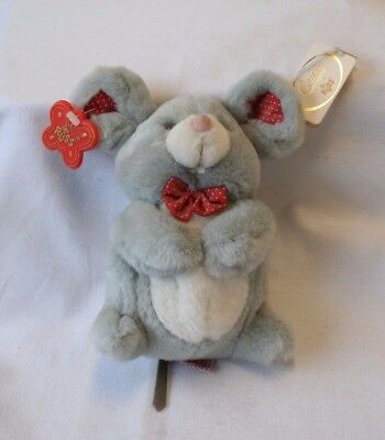 Vintage Plush Mouse Caress Soft Pets Stuffed Animal by RUSS no. 6948