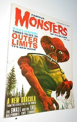 Famous Monsters of Filmland #26 Outer Limits Karloff King Kong Ackerman