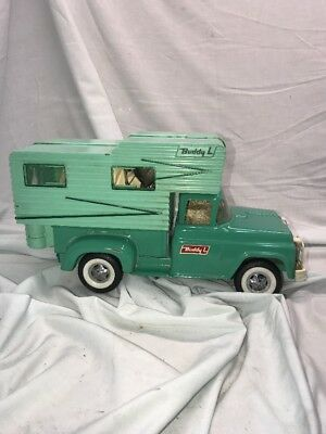 VINTAGE Buddy L Ford Pick Up Truck Camper