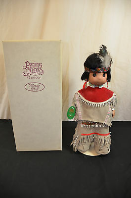 Precious moments Native American doll boy in box 1650#7