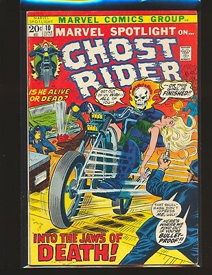 Marvel Spotlight # 10 - Early Ghost Rider VG/Fine Cond.