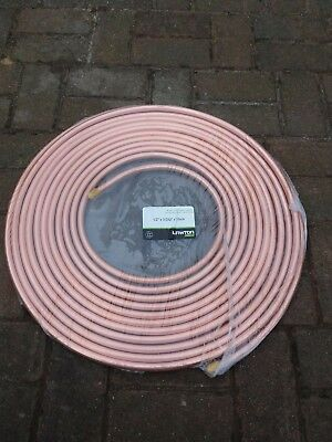 Copper pipe 15m 1/2 refrigeration air conditioning new sealed