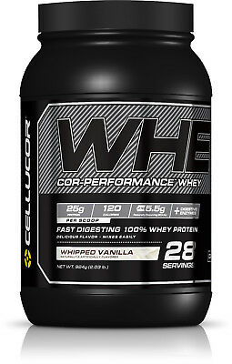 924g (2.03lb) Cellucor Cor-Performance Whey Protein Whipped Vanilla 28 Portionen