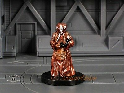 WOTC Star Wars Miniature Minis Universe Fringe Zuckuss Bounty Hunter K417