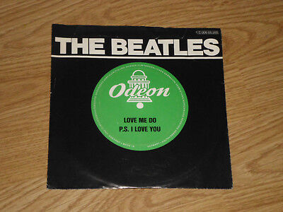 THE BEATLES Love Me Do SINGLE VINYL 7Inch 60er ODEON 1C 006-05265