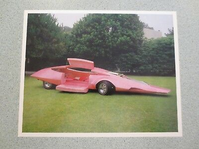 Vintage 1969 Pink Panther Show Car Print by Jay Ohrberg