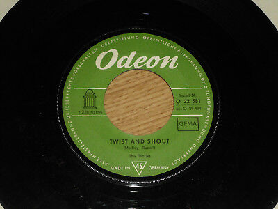 THE BEATLES Twist and Shout SINGLE VINYL 7Inch 60er ODEON O22581