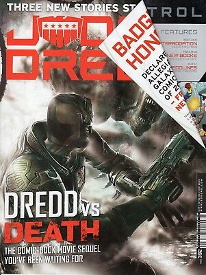 Judge Dredd Megazine 392 2000ad Devlin Waugh Lawless Cursed Earth Koburn Death