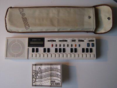 Casio VL-Tone VL-1 Sythesizer Keyboard | Electronic Musical Instrument