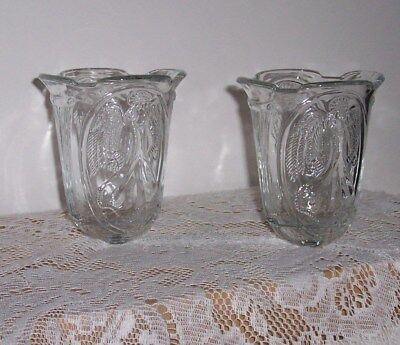 Home Interiors Etched Angel Homco Votive Holders 2