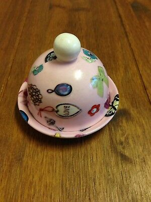 Unusual dome Lidded Dish Ideal For Valentines Day