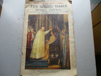 The London Times - May 20, 1937 - Special Coronation Edition