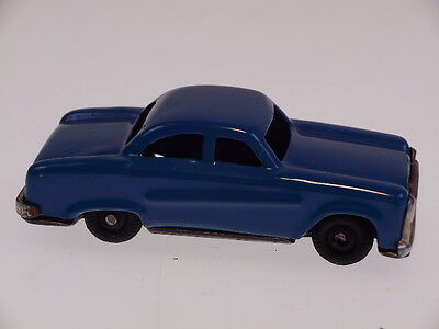 "GSPKW NEW PENNY TOYS  ""CAR"", BLAU, JAPAN, 7 cm, NEARLY NEW/NEU/NEUF !"
