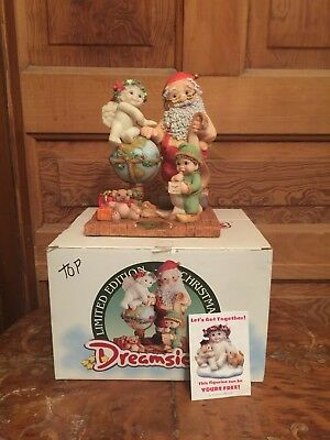 1998 Dreamsicles Christmas Eve Figurine Signed and Numbered With Original Box