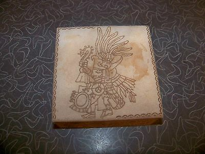 Vintage Daitbalche Camp Mexico Hand Made Trinket Box