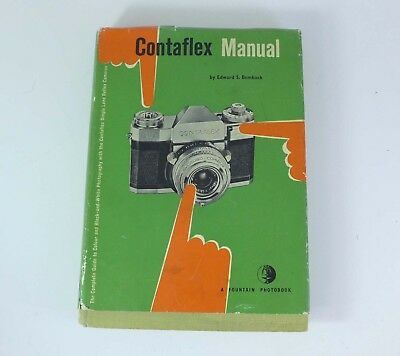 CONTAFLEX MANUAL 1958 book by Edward S. Bomback