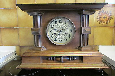 Antique Philip Haas and Sohne Mantle Clock in good working condition