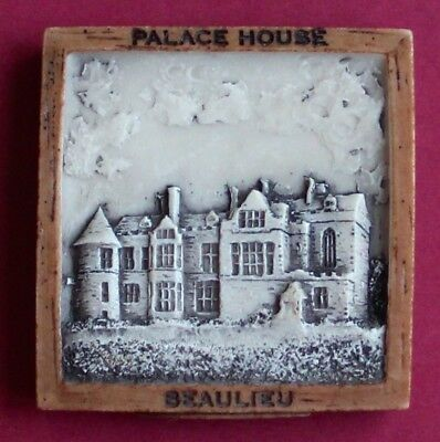 Souvenir Fridge Magnet Beaulieu Palace House Hampshire England
