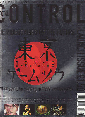 TOTAL CONTROL VIDEO GAMES MAGAZINE issue 1 NOVEMBER 1998- TOKYO GAME SHOW cover