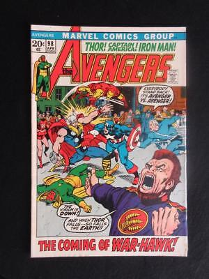 Avengers #98 MARVEL 1972 - HIGHER GRADE - Goliath becomes Hawkeye - Iron Man!!