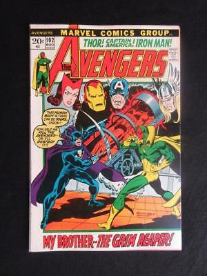 Avengers #102 MARVEL 1972 - NEAR MINT 9.4 NM - Captain America, Iron Man!!!!