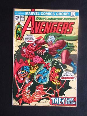Avengers #115 MARVEL 1973 - NEAR MINT 9.4 NM -prologue to Avengers/Defenders war