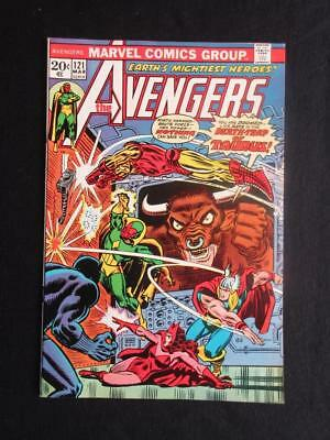 Avengers #121 MARVEL 1974 - NEAR MINT 9.6 NM - Zodiac app - Captain America!!!