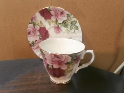 Duchess Roses Bone China Cup And Saucer