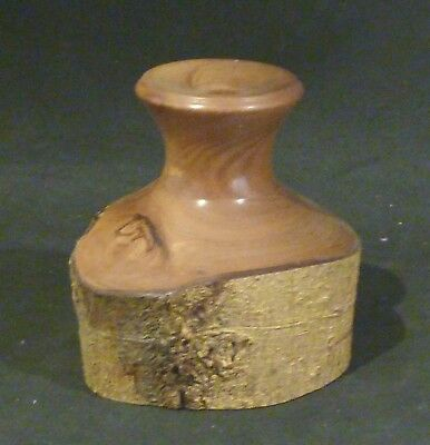 Tasmanian HORIZONTAL Small Vase/taper holder, ST HELENS, 8 cm high