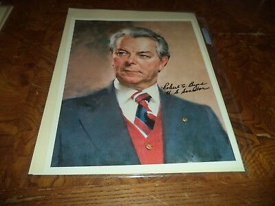 Robert Byrd Autographed 8x10 Photo