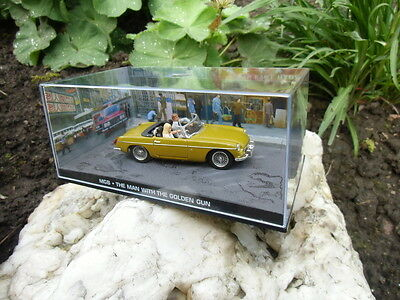 007 James Bond - Mgb - Man With The Golden Gun - 1:43 Boxed Mg B Car Model