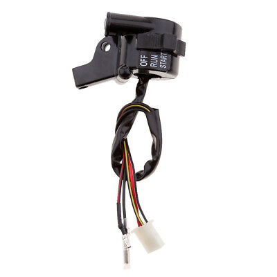 Motorcycle Throttle Housing Start Kill Switch Lever Fit for Yamaha PW 50