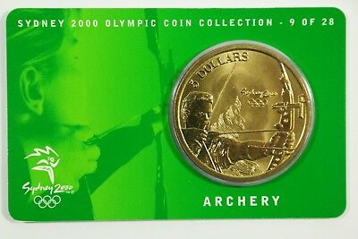 Archery - Sydney 2000 Olympic Coin Collection 5 Dollars 9 of 28